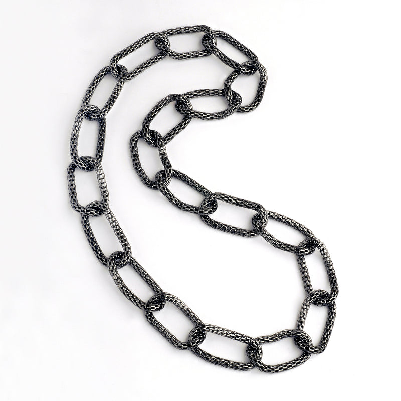 CHUNKY MESH NECKLACE - Bridget King Jewelry