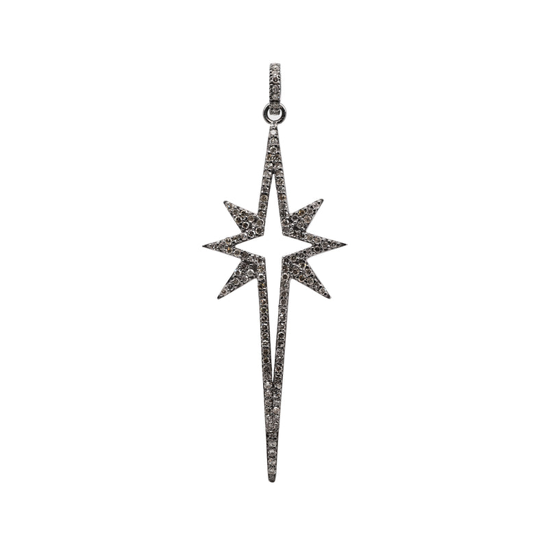 LARGE STARBURST SPEAR PENDANT - Bridget King Jewelry
