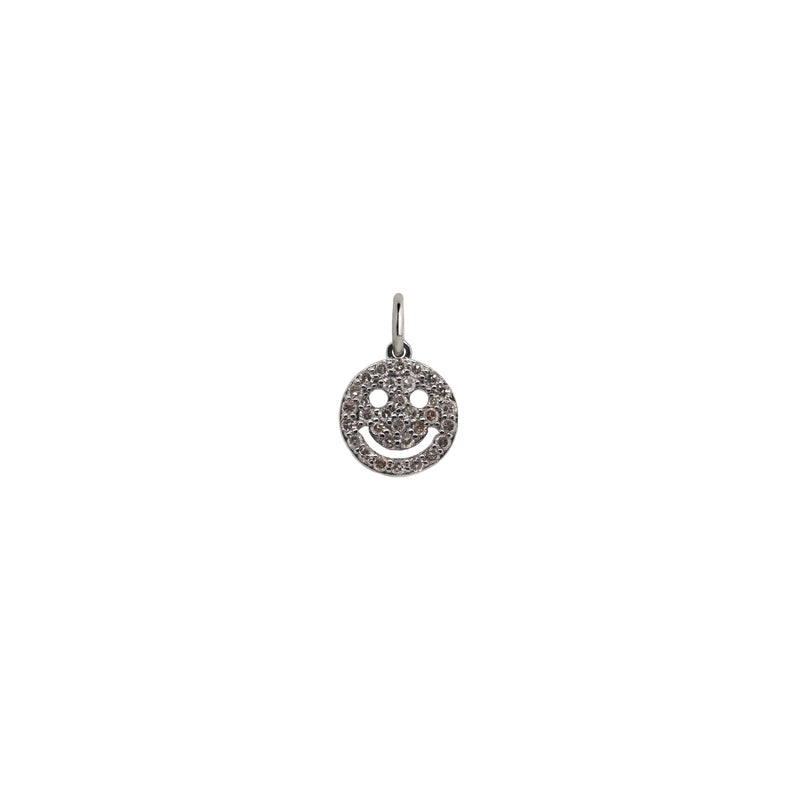 MINI HAPPY FACE PENDANT - Bridget King Jewelry