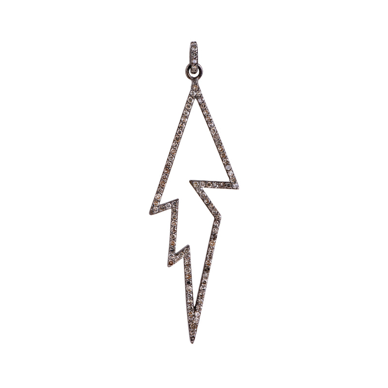 LARGE THUNDERBOLT PENDANT - Bridget King Jewelry