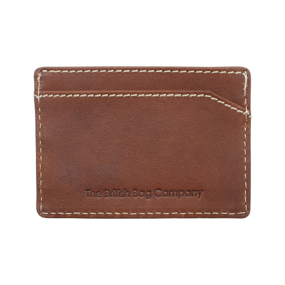 Pull Up Leather Card Holder