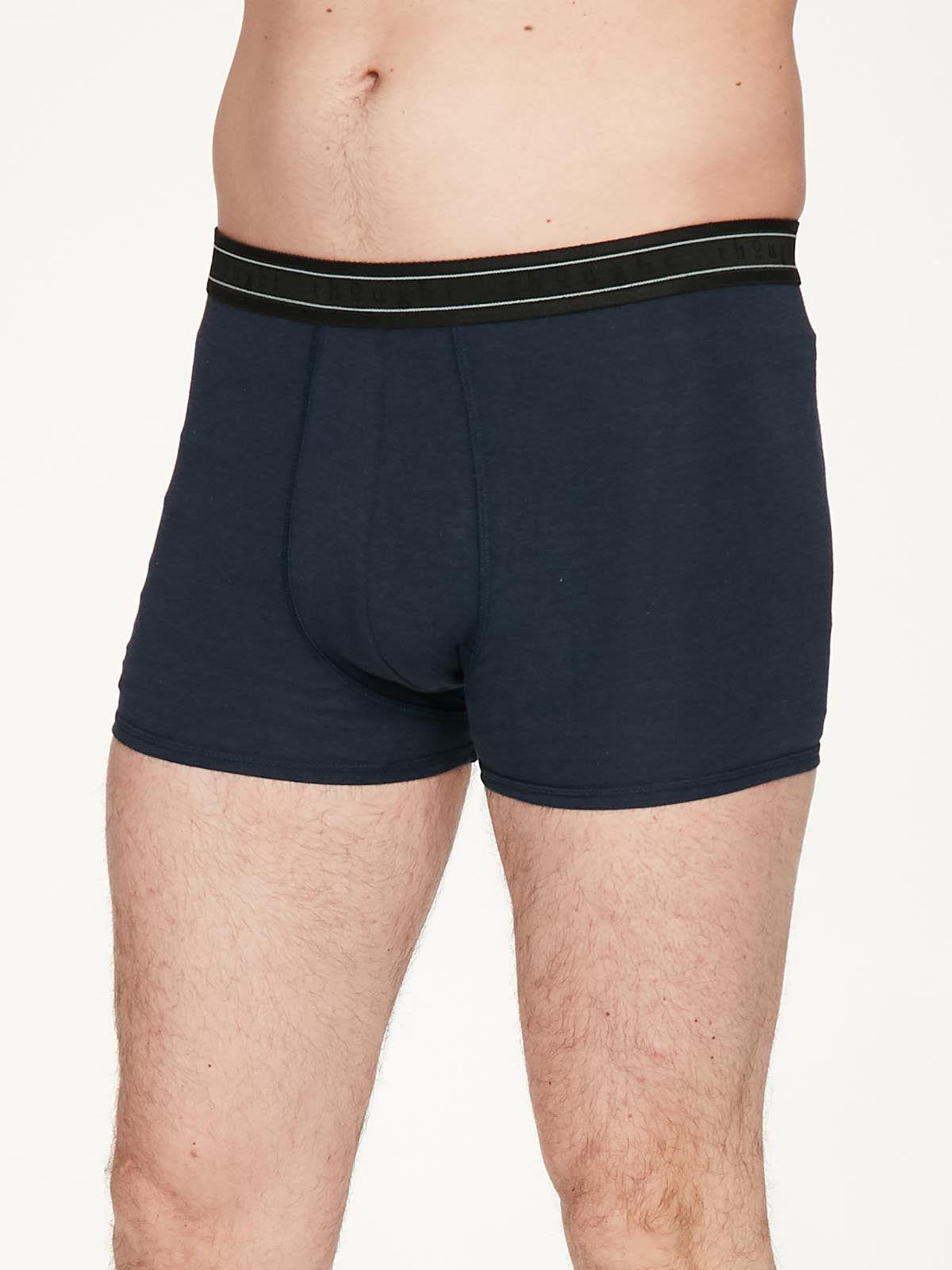 Black Bamboo Boxers