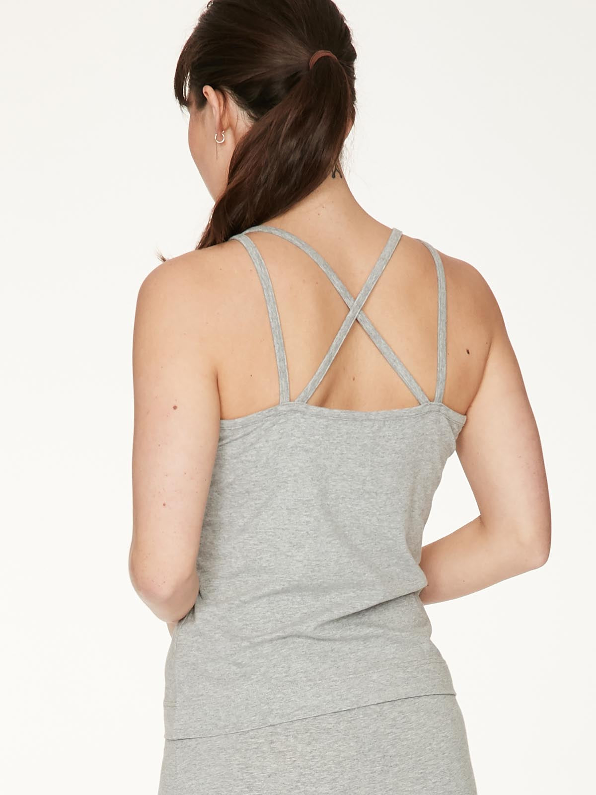 Leah Grey Organic Cotton Cami