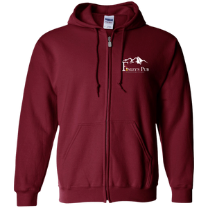 Finley's Pub Embroidered Zip Hoodie