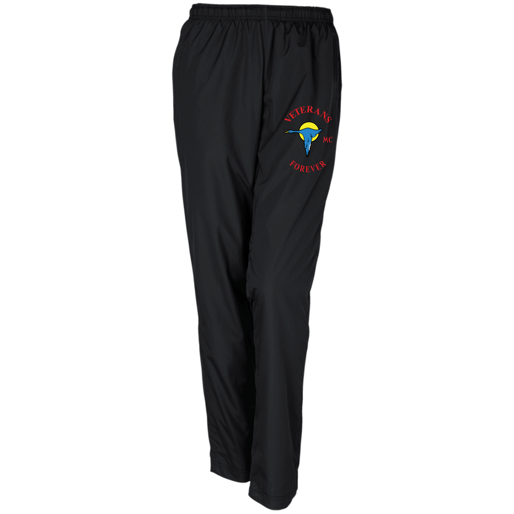Veterans Forever goose logo with black 4500x5400 LPST91 Ladies' Warm-Up Track Pant