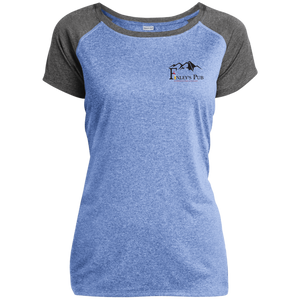 Finleys Pub Ladies Heather on Heather Performance T-Shirt
