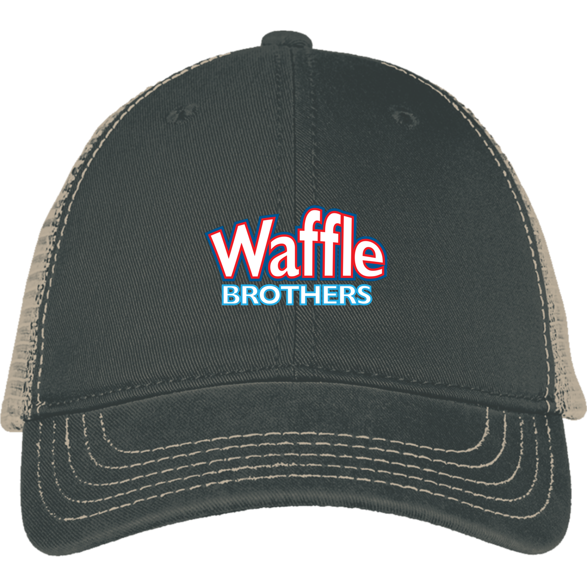 Waffle Brothers Mesh Back Cap