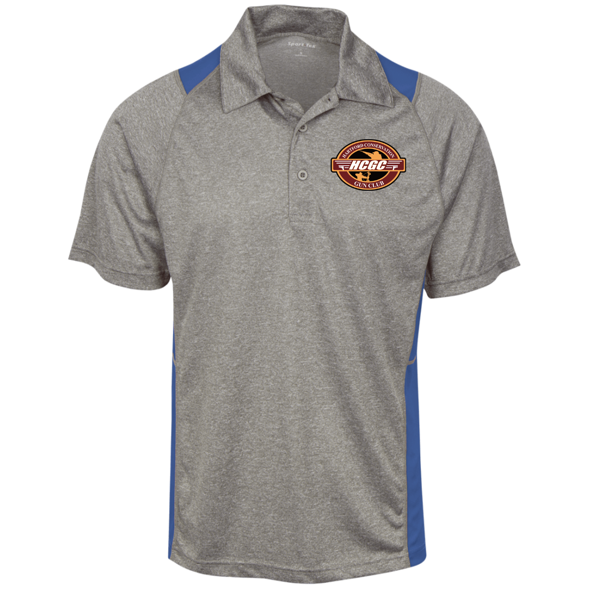 ST665 Heather Moisture Wicking Polo