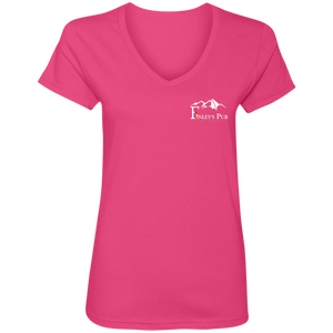 Finley's Pub Ladies V-Neck T-Shirt