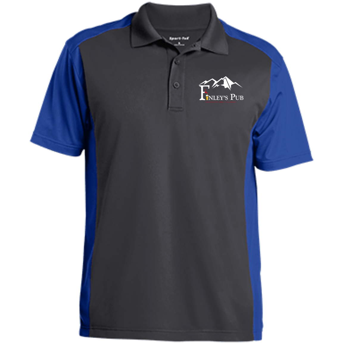 Finley's Pub Men's Color block Sport-Wick Polo
