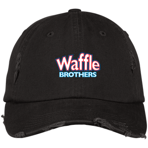 Waffle Brothers Distressed Dad Cap