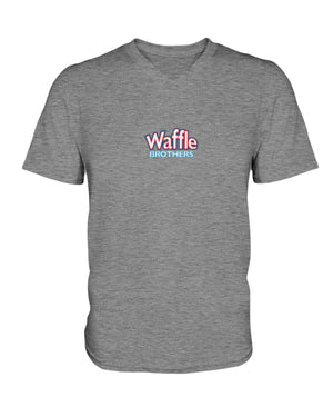 Waffle Brothers Ladies HD V Neck T