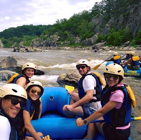 Group Rafting Trip Reservation Deposit