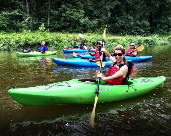 Group Event Kayaking