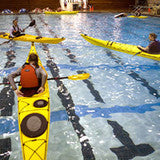 Sea Kayaking Indoor Pool Rolling Session