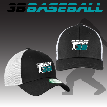 Team 3B New Era Stretch Fit Cap