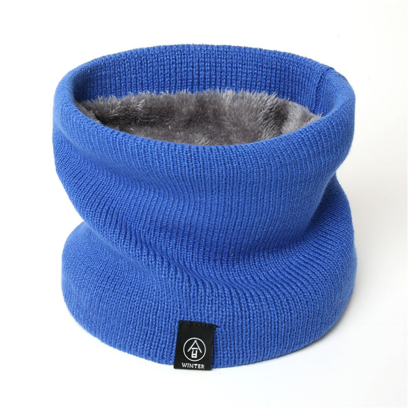 New Style Knitted Neckwear Fashionable Plush Warm Neck Set