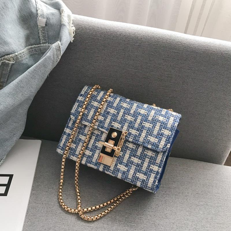 Shopy7 Fashion Women's One Shoulder MINI SQUARE Bag