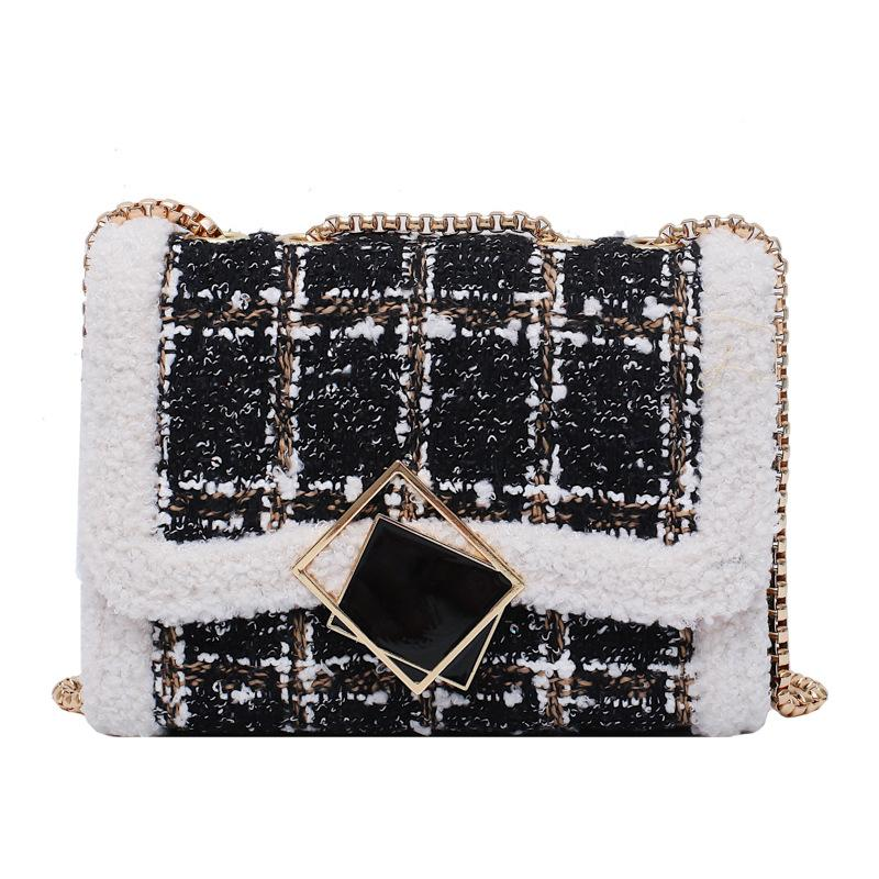 Shopy7 New Hundred Chain Small Bag Slanted Women Fashion Bag