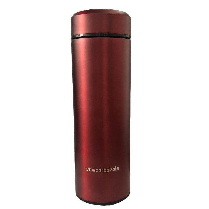 Wowcarbazole Stainless Steel Drink Water Bottle Insulation Cup & LIFE 500ml Hermal Water Bottle Office Travel Coffee Cup