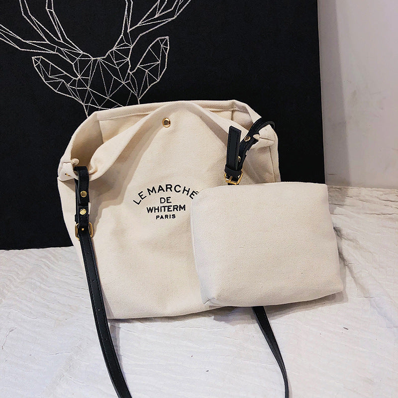Shopy7 New Arrival Art Small Fresh Printing Simple Women's Bag