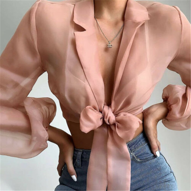 New elegant and fashionable women's casual shirt