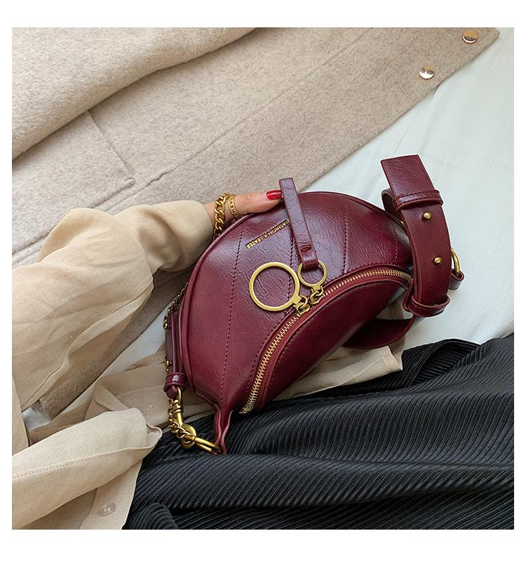 Shopy7 2019 New Fashion Single Shoulder Oblique Satchel Women's Waist Bag