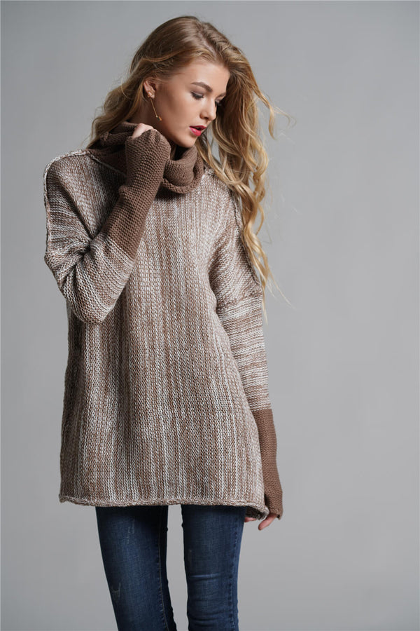 Great Quality Fashion Long Sleeve High Collar Sweater