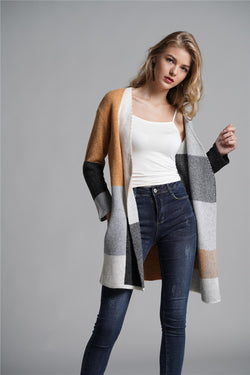 Loose Knitted Sweaters Autumn/Winter Fashion Women Knit Coats