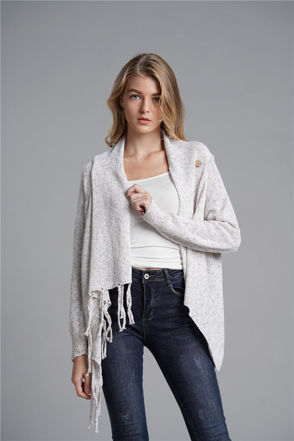 High Quality Two Wear Fashionable Fringed Sweaters