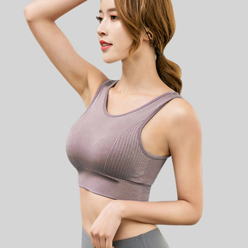 Sexy Female Sports Vest Tank Tops Fashion Women Slim Fit GYM Running Fitness Bra Women Camisole Crop Top Feminino Women Clothes