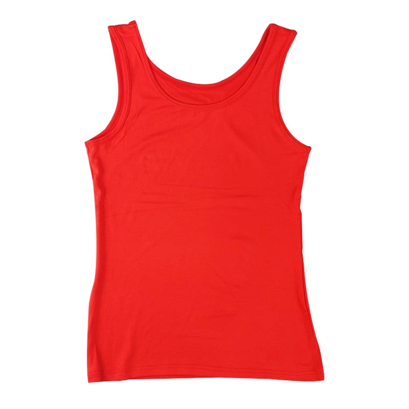 Women's Vest casual and comfortable solid color