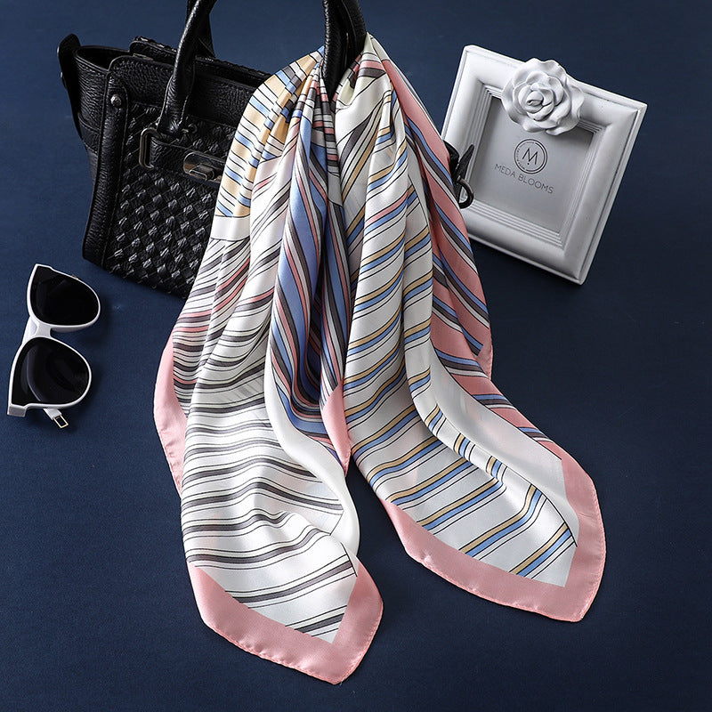 2019 New Style Elegant Matching Striped Scarf