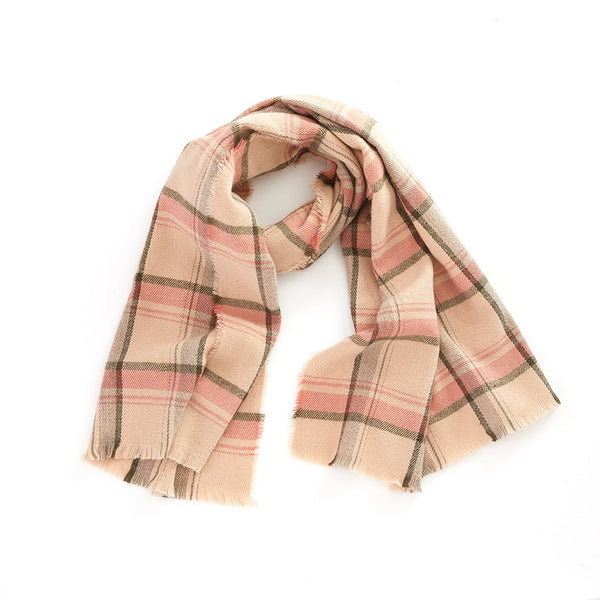 Autumn And Winter Women's Cashmere Plaid Scarf