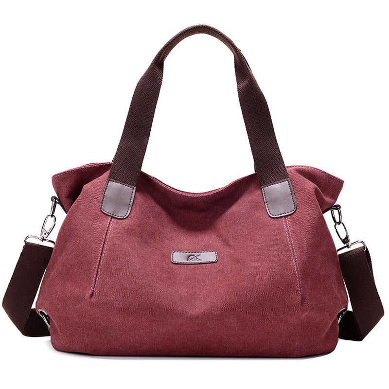 Women's Casual Hobo Shoulder Bag Canvas Daily Crossbody Tote Bags