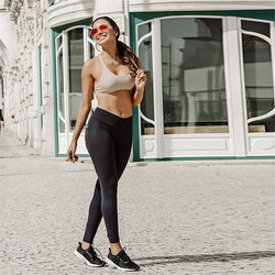 Women Sexy Outfits Push Up Leggings Hip Pocket High Waist Active Pants