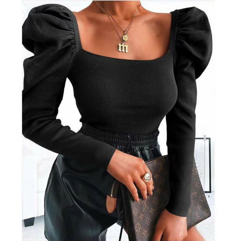 Women Tanks Autumn Fashion Popular Vintage Ruffle Sexy Soft Casual Solid Ladies Crop Tops 3 Colors