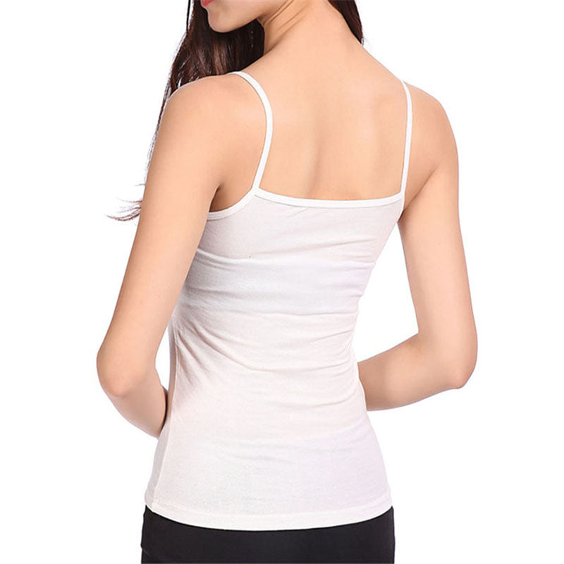 New Tank Tops Women T Shirt Summer Vest Modal Slim Sleeveless Spaghetti Strap Tops Shirt Camisole Base T-Shirt Female  Tee