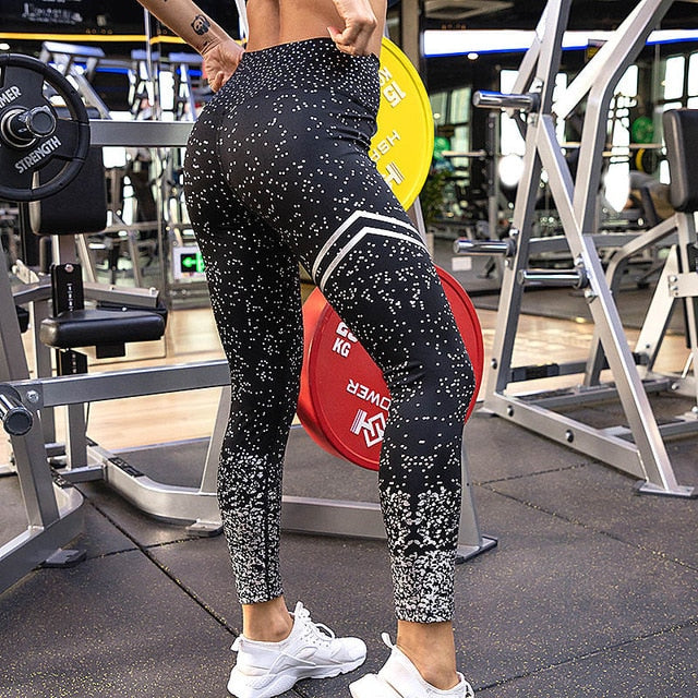 High Waist Leggings Female Outfits Fitness Sportswear