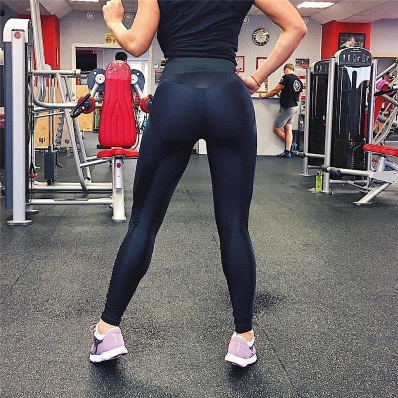 Women High Waist Leggings Feamle Fitness For Leggings For Push Up Activewear Workout Legging Pants Streetwear