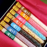 7 Tubes Box - Scent Bath Salts