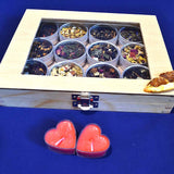 Fruit Tea - Wood box With Window 12 pc