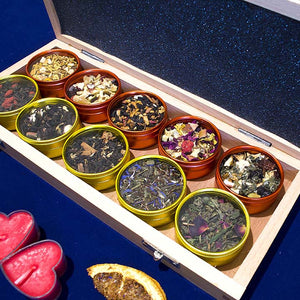 Fruit Tea - Luxory Wood Box 10pc