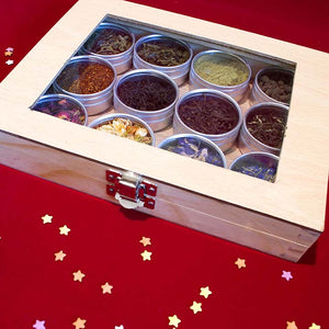Loose Leaf Tea - Window Wood Box 12pc