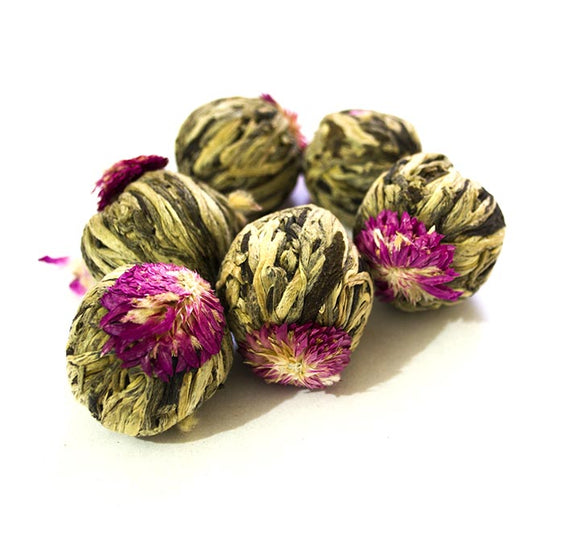 Blooming Flower Lichi Ball Tea