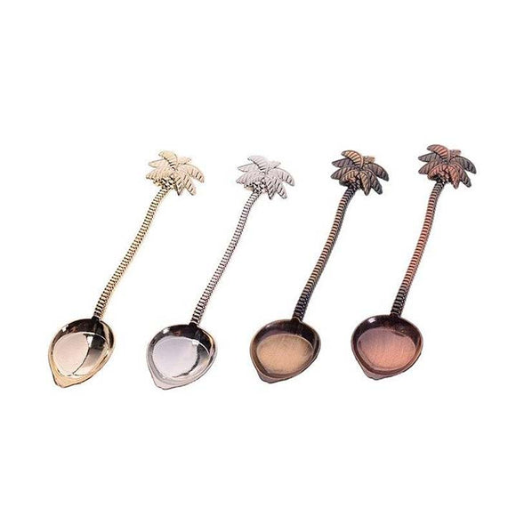 Palmtree Spoons in 4 Colors