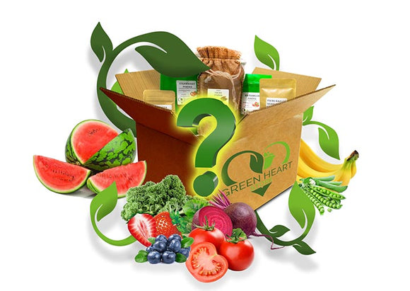 Fruit & Vegetable Powders - Vegan Mystery Box