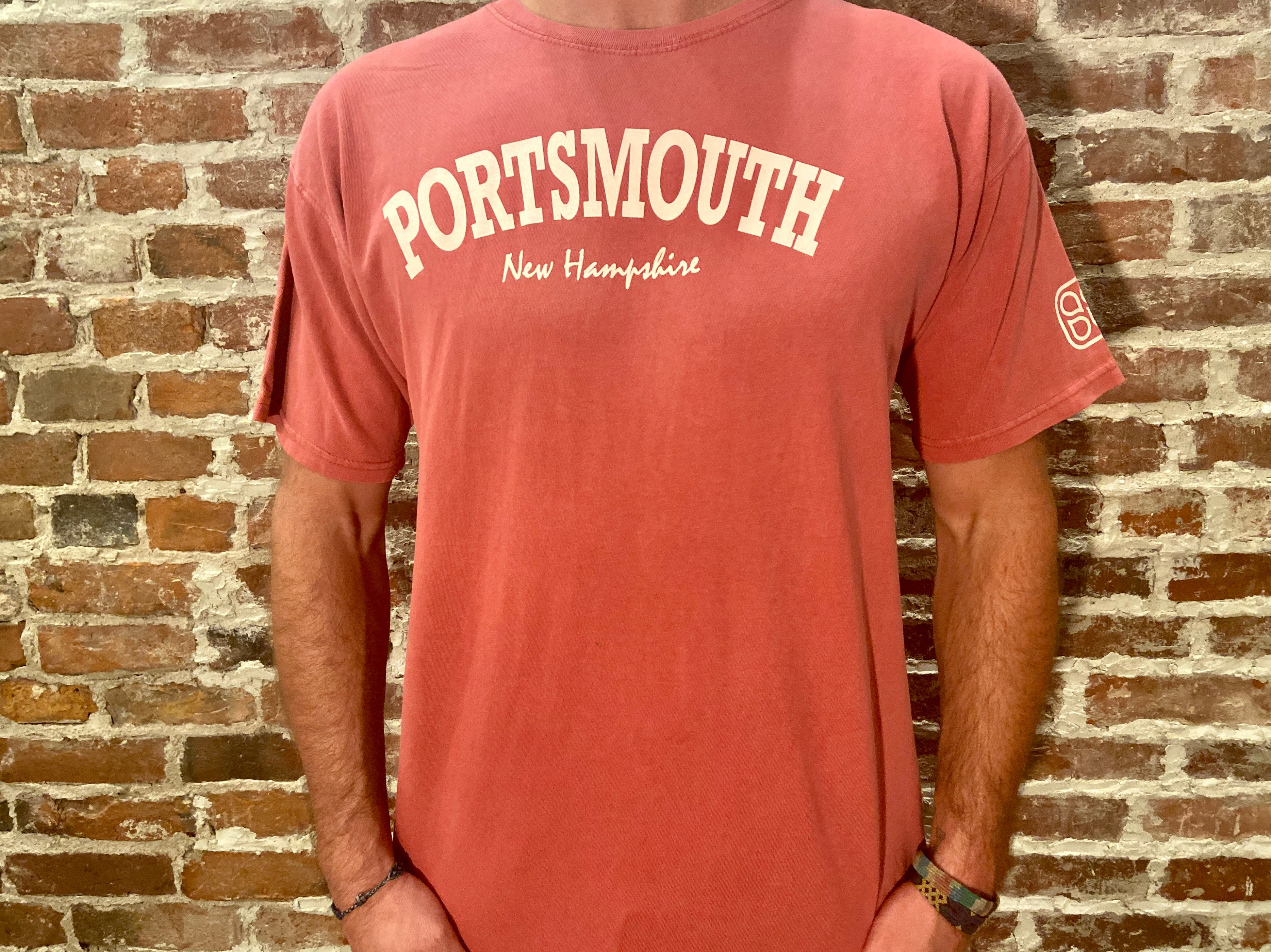 SS Red Portsmouth Tee