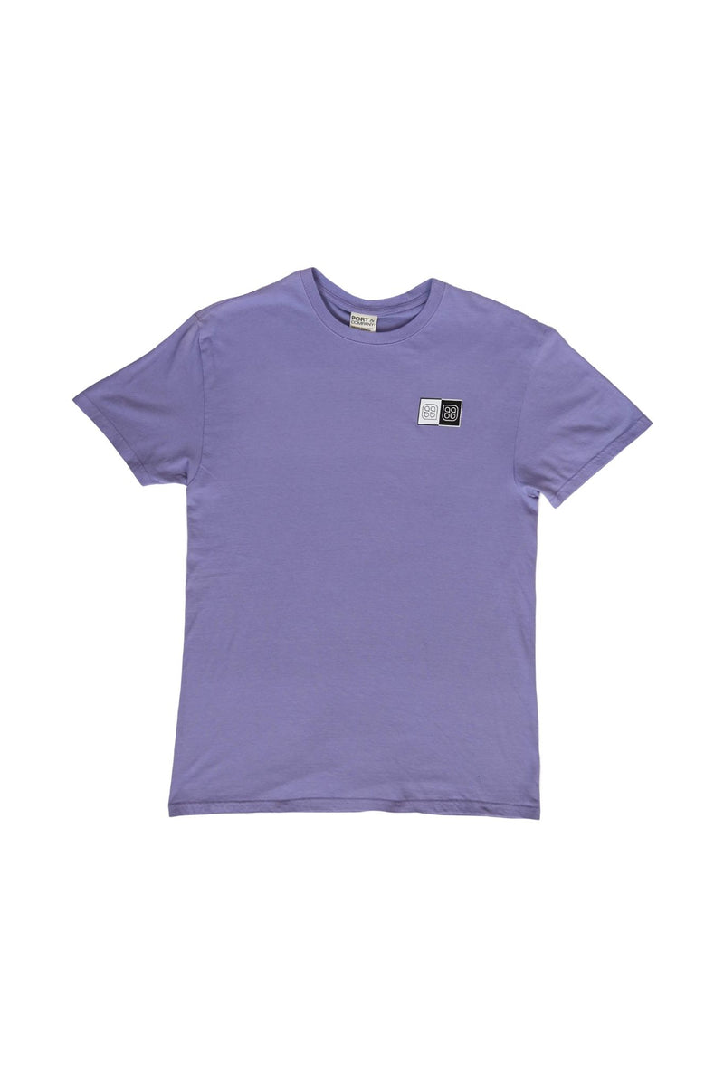 "Summer Sessions -RVCA ""Balance Of Opposites""  Tee (Lavender)"