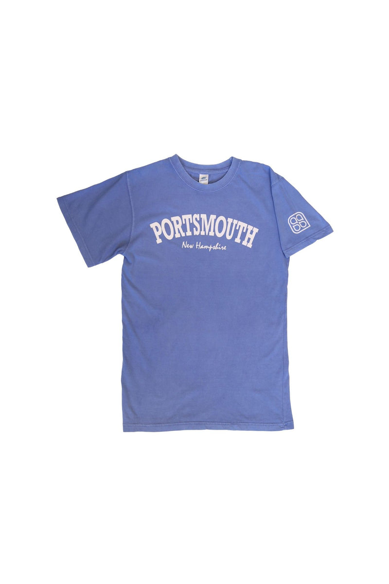 Summer Sessions -Salt Wash Portsmouth Tee (Ocean Blue)